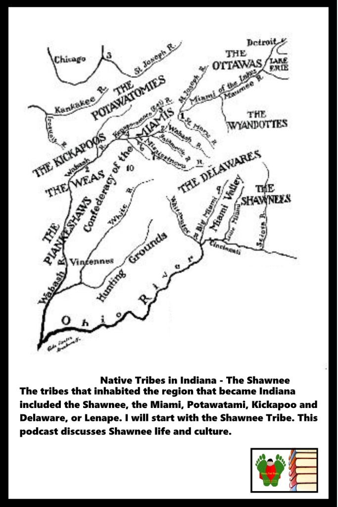 Podcast - Native Tribes of Indiana - Shawnees in Indiana