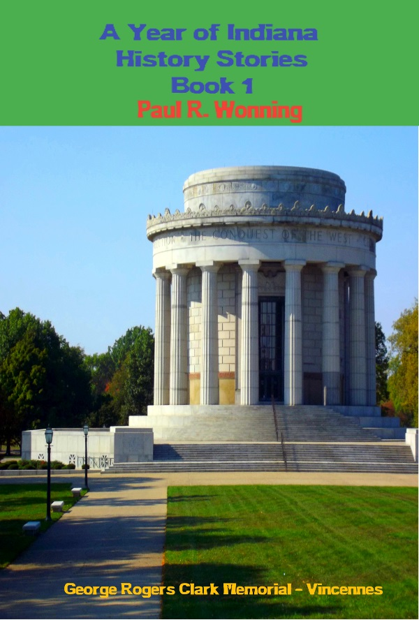A Year of Indiana History Stories - Book 1